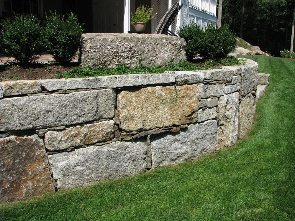 Antique Granite Wall