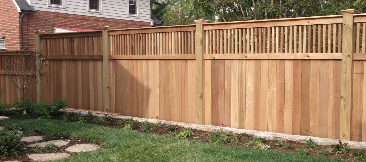 Board + Baluster Fence