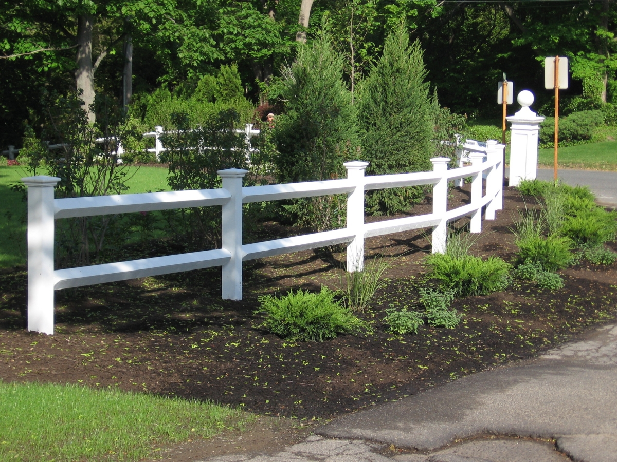 Post + Rail Fence