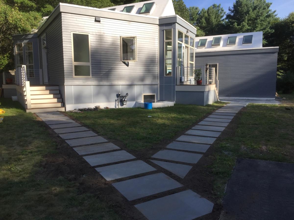 Bluestone Walkway - Concord, MA