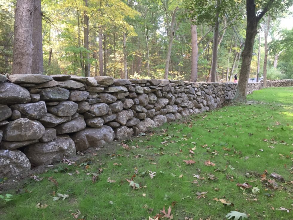 Dry Stone Wall - Lincoln, MA