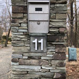 Stone Mailbox - Lincoln, MA
